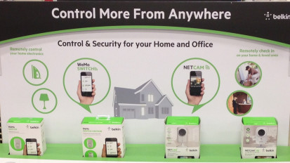 Belkin Connected Home POS Graphics