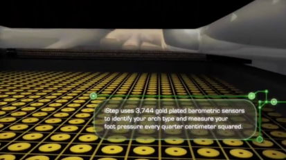 Aetrex iStep Foot Scanning Technology