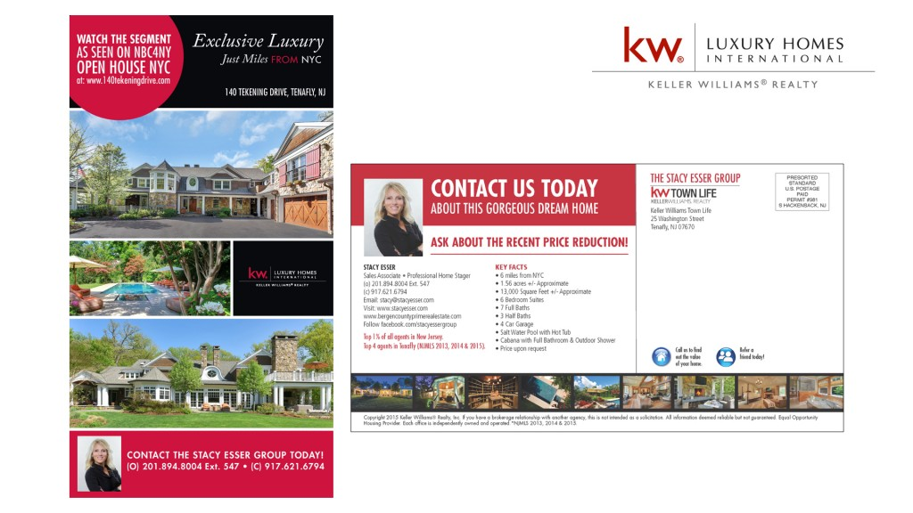 Keller Williams Postcard
