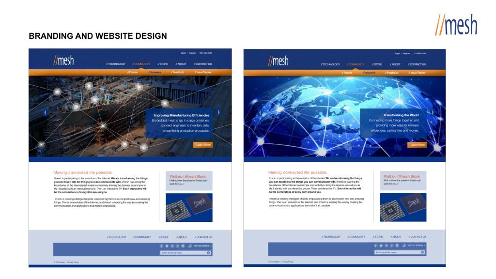 Mesh Website